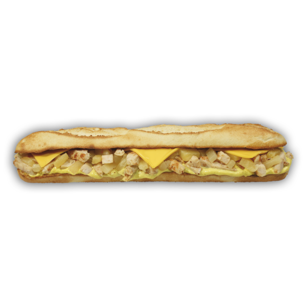 Curry Huhn Baguette